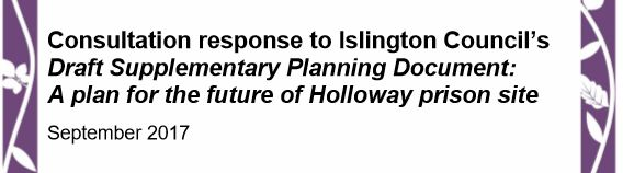 Our response to Islington Council draft planning brief