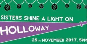 EVENT: Sisters shine a light, 25 Nov