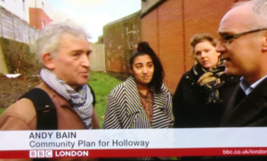 Community Plan for Holloway appears on BBC News